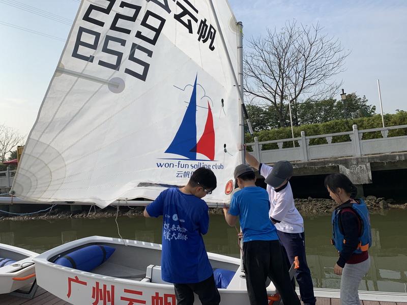 青少年帆船周末培训班